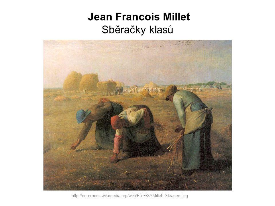 Jean Francois Millet Sběračky klasů