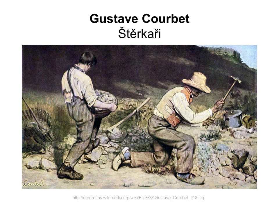 Gustave Courbet Štěrkaři