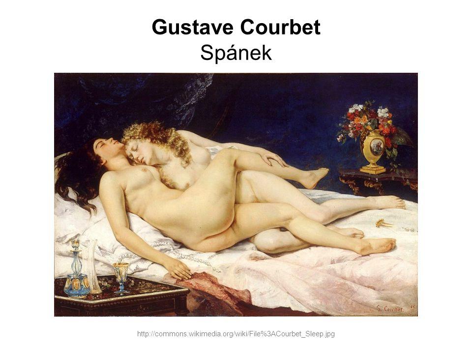 Gustave Courbet Spánek