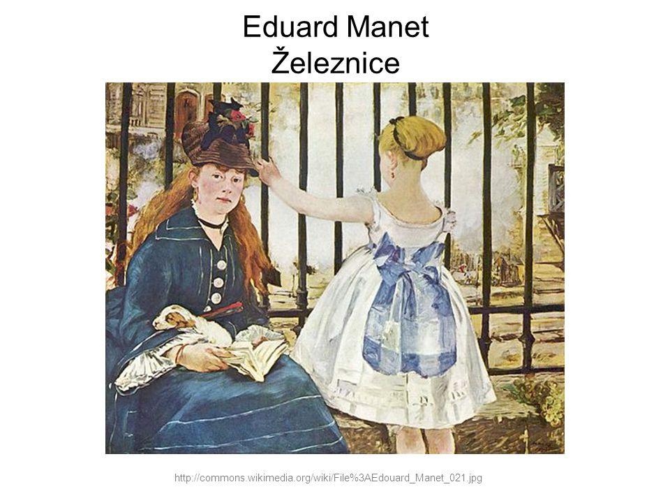 Eduard Manet Železnice