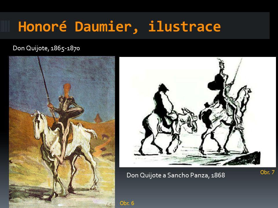 Honoré Daumier, ilustrace
