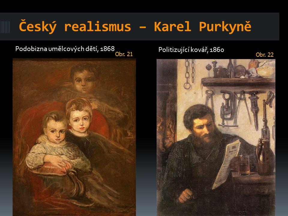 Český realismus – Karel Purkyně