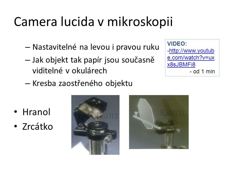 Camera lucida v mikroskopii