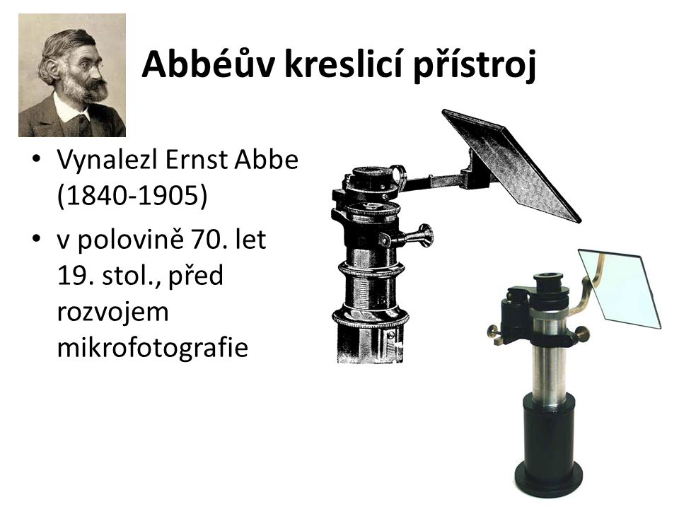 Abbéův kreslicí přístroj