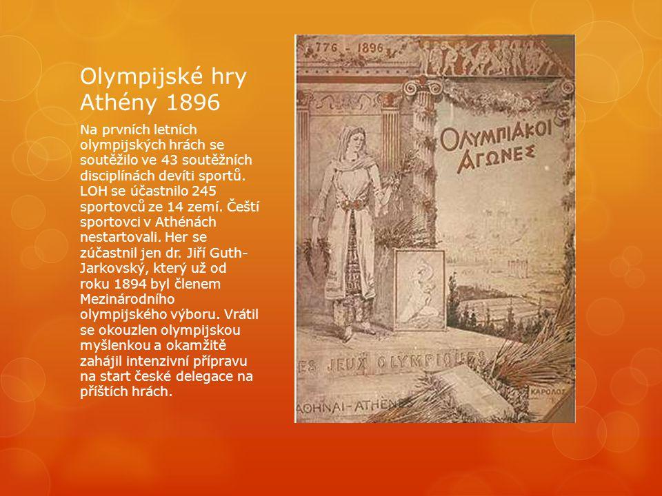 Olympijské hry Athény 1896