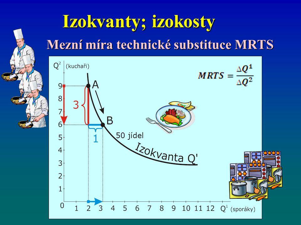 Mezní míra technické substituce MRTS