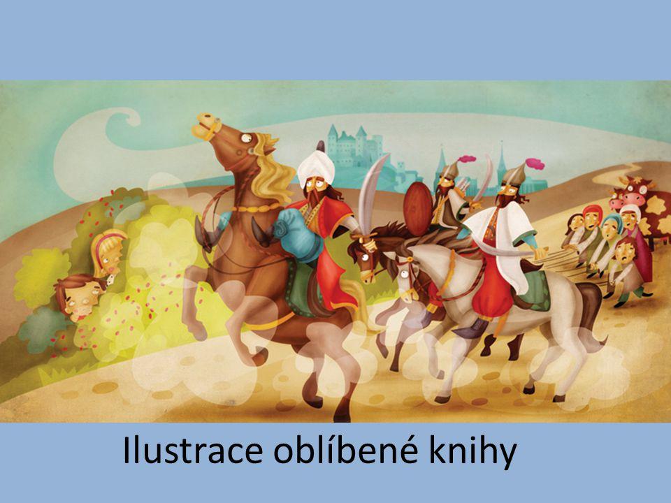 Ilustrace oblíbené knihy