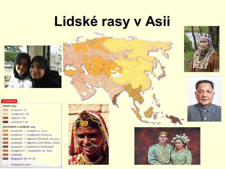 Lidské rasy v Asii