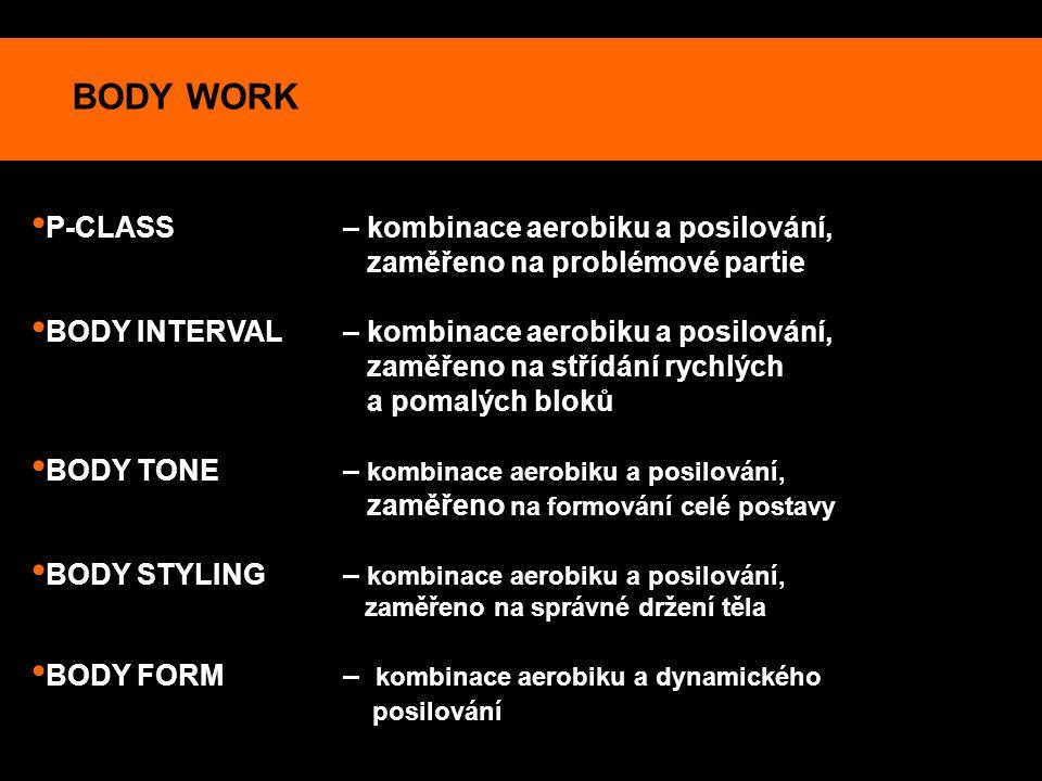 BODY WORK P-CLASS – kombinace aerobiku a posilování,