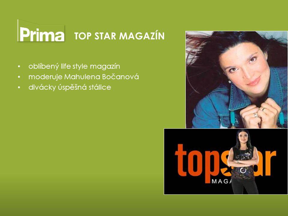 TOP STAR MAGAZÍN oblíbený life style magazín
