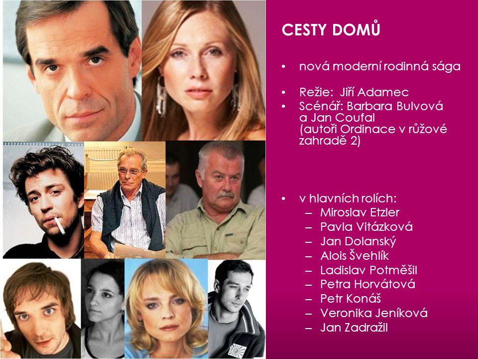 CESTY DOMŮ nová moderní rodinná sága Režie: Jiří Adamec