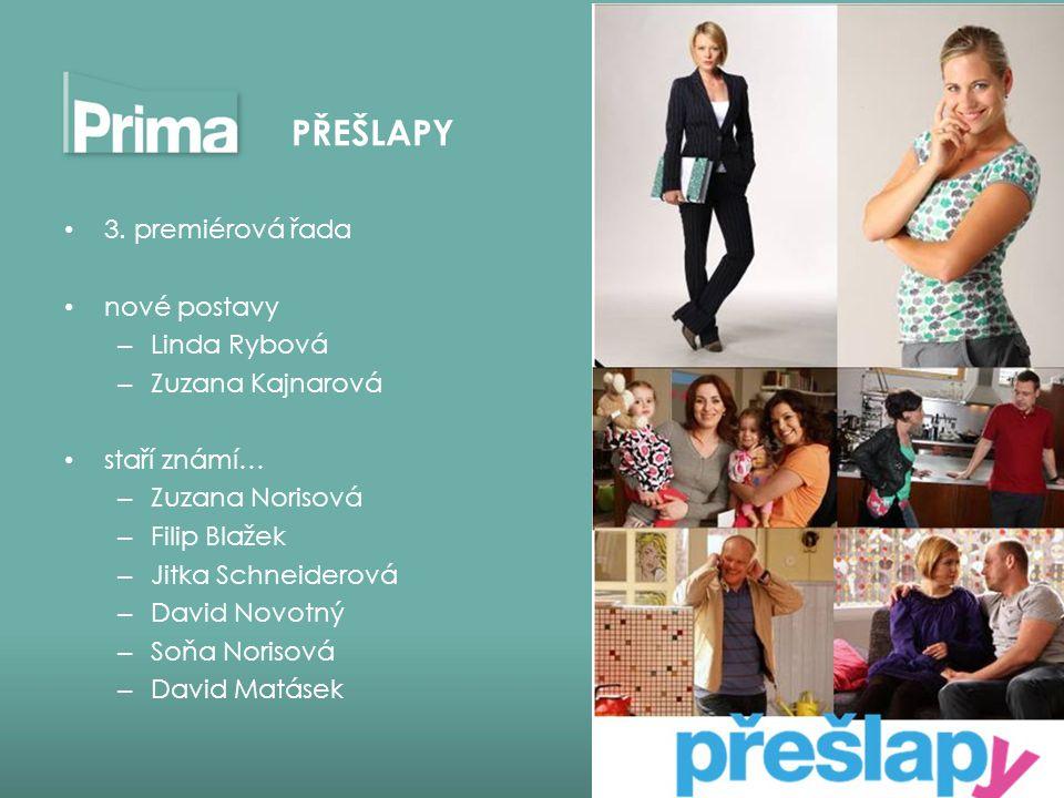 PŘEŠLAPY 3. premiérová řada nové postavy Linda Rybová Zuzana Kajnarová