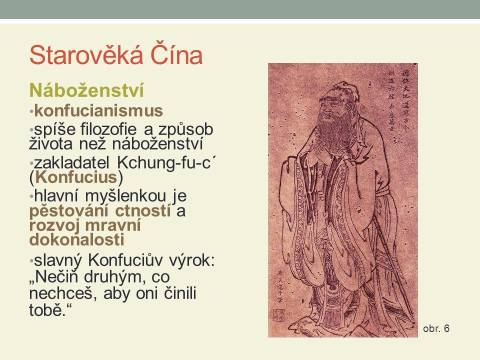 Starověká Čína Náboženství konfucianismus