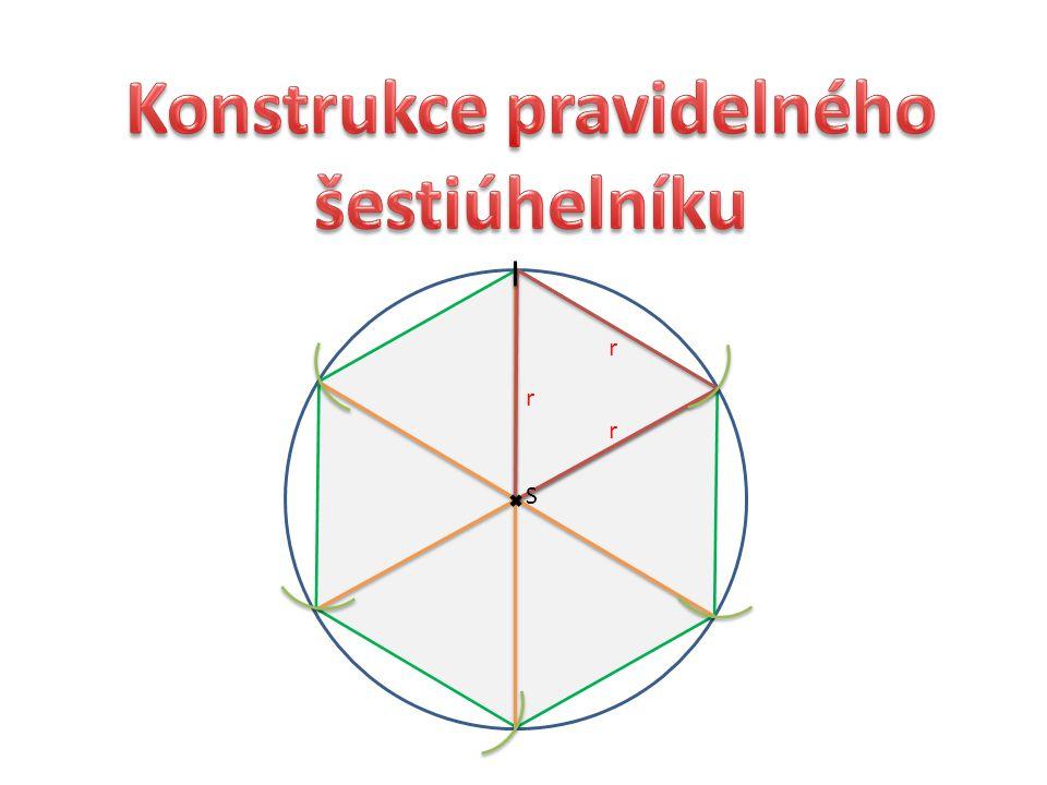 Konstrukce pravidelného šestiúhelníku