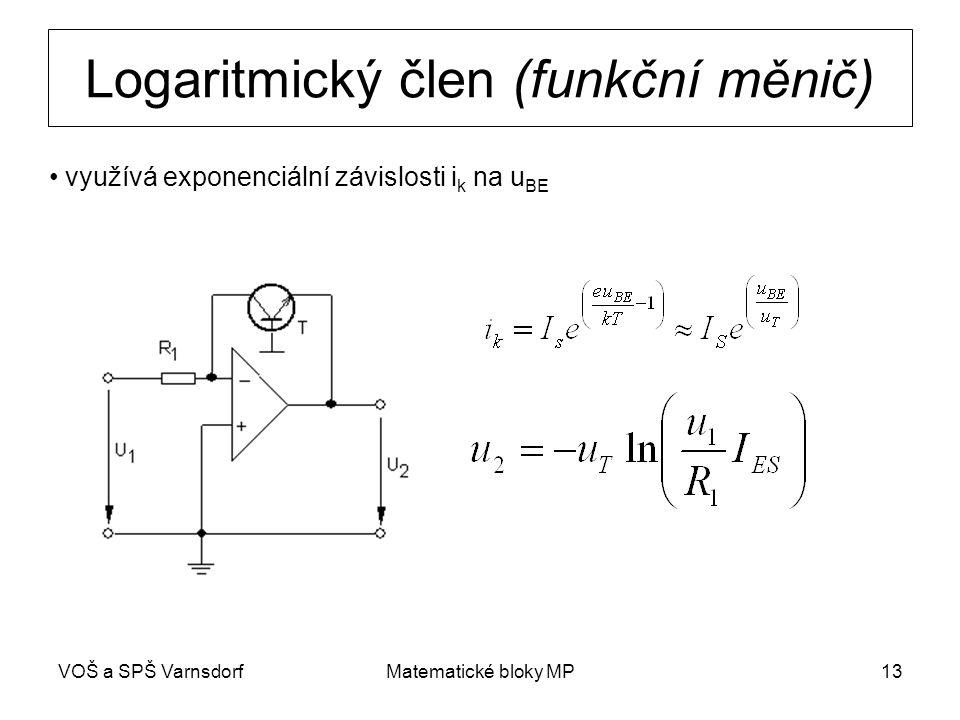Logaritmický člen (funkční měnič)