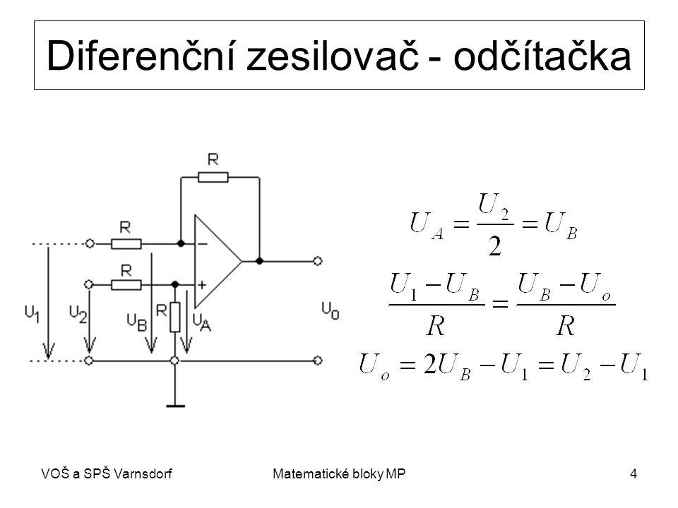 Diferenční zesilovač - odčítačka