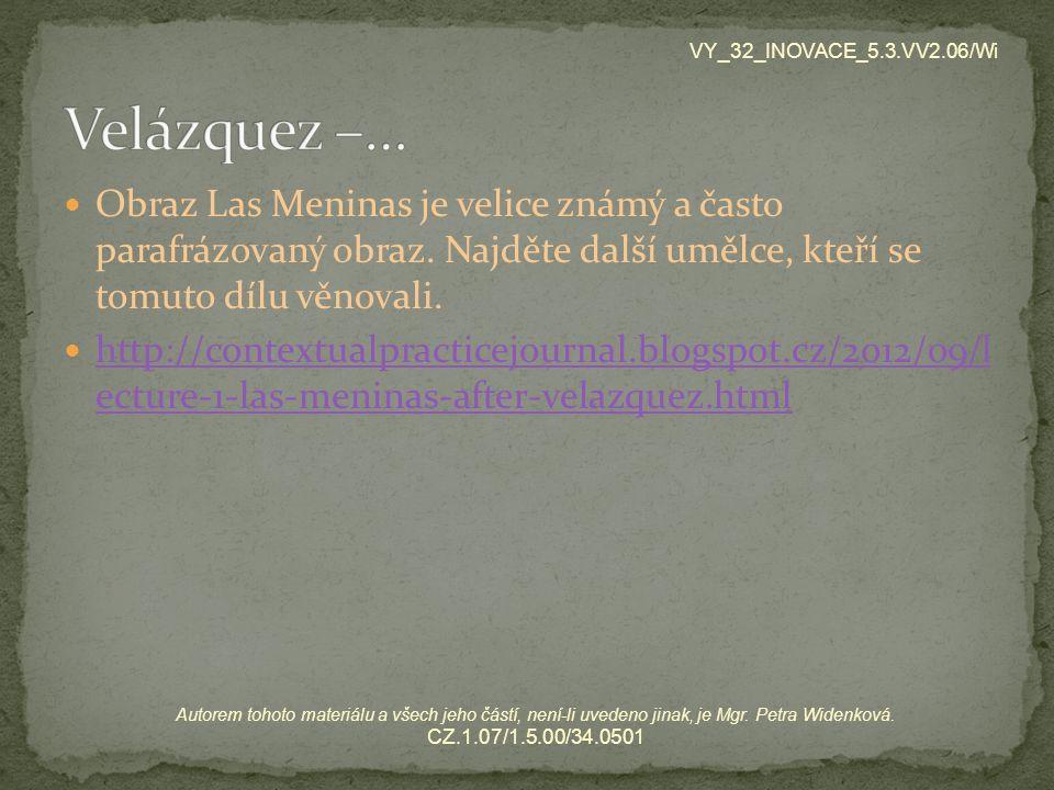 VY_32_INOVACE_5.3.VV2.06/Wi Velázquez –…
