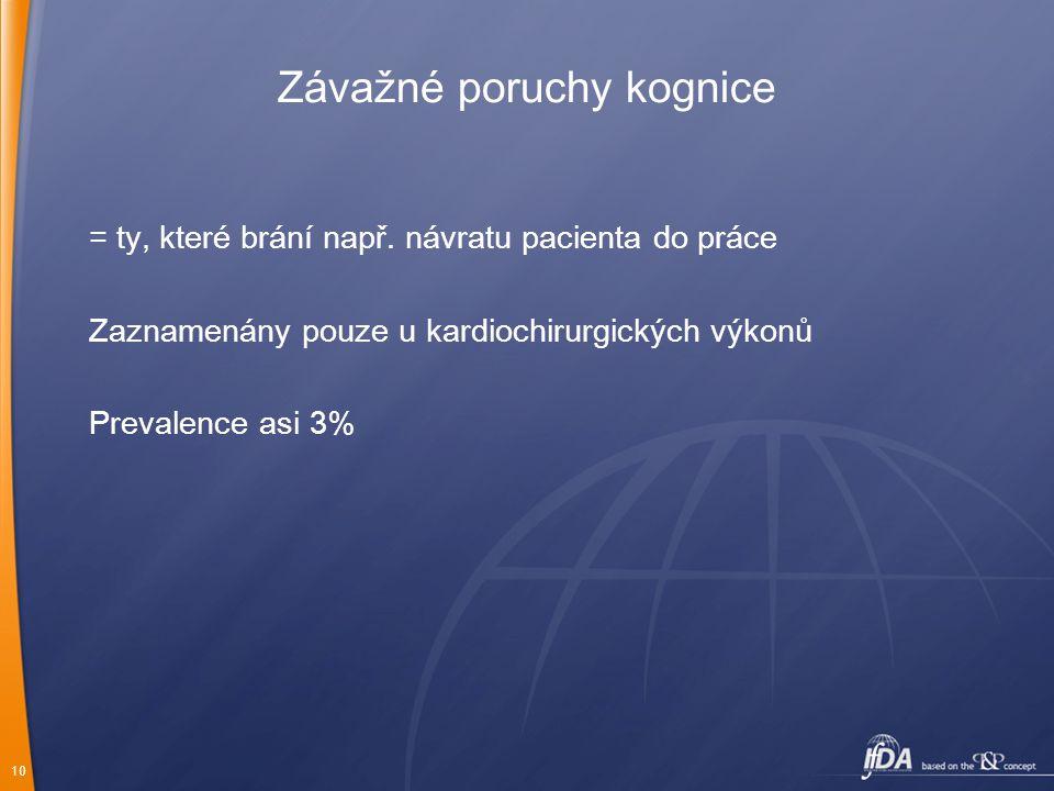 Závažné poruchy kognice