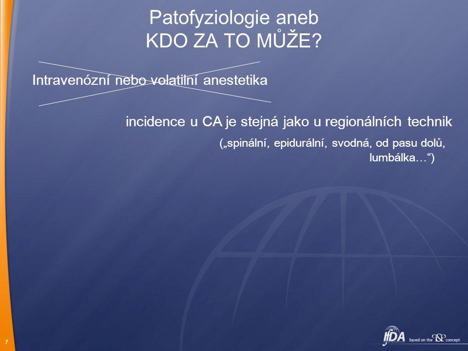 Patofyziologie aneb KDO ZA TO MŮŽE