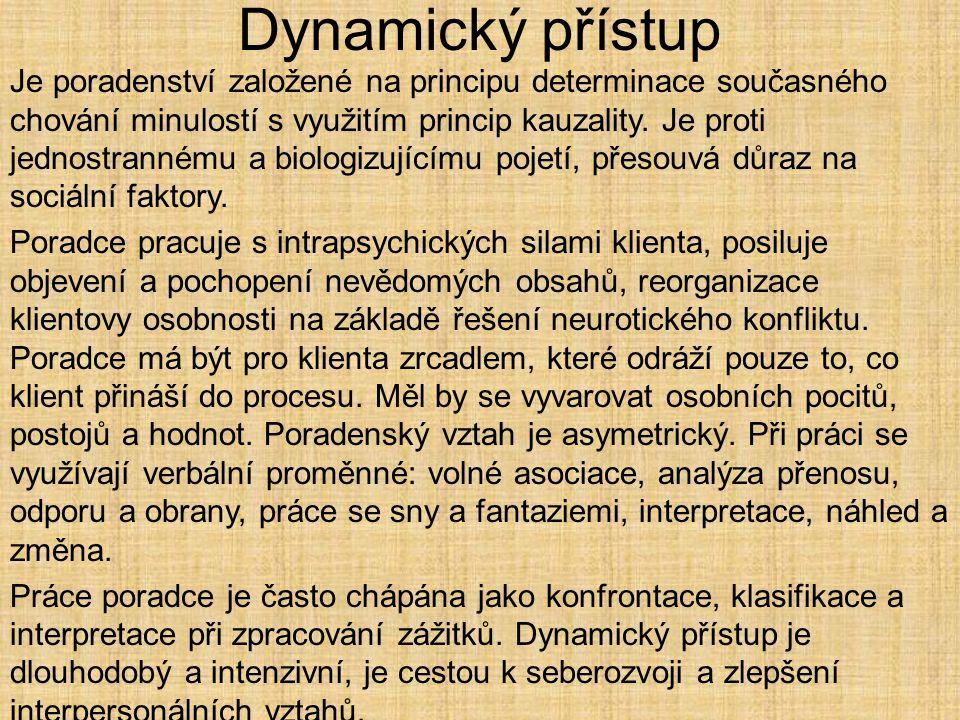 Dynamický přístup