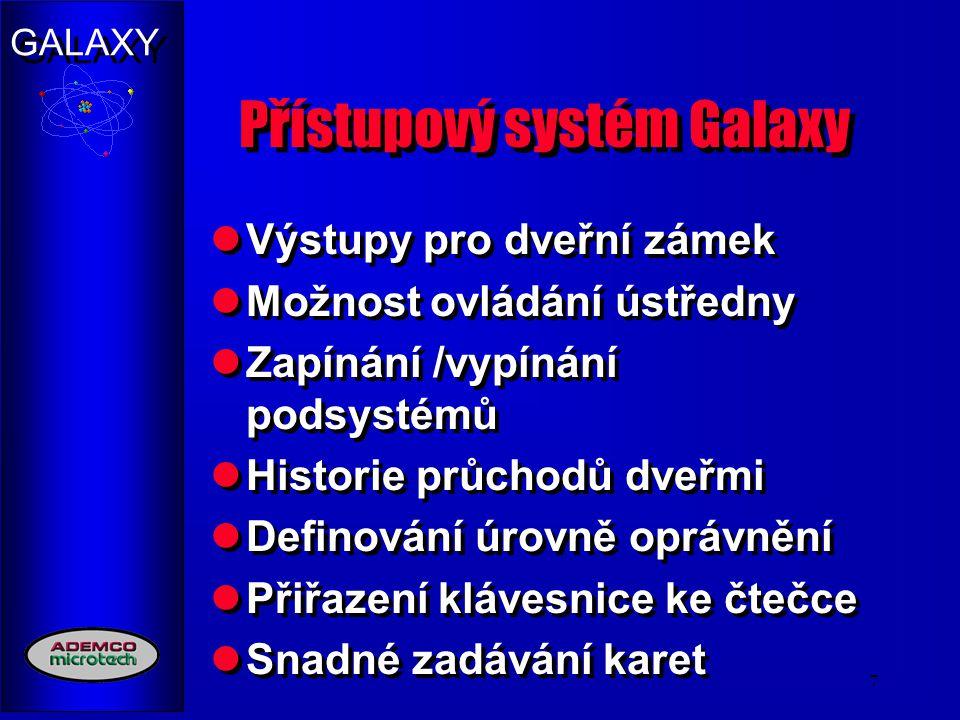 Přístupový systém Galaxy