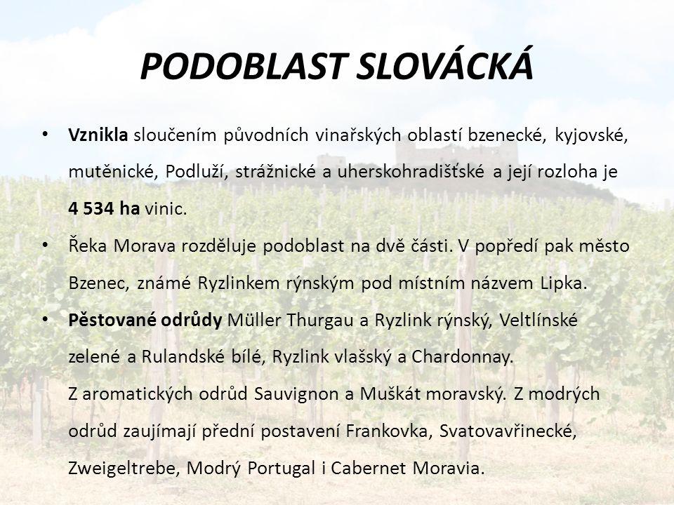 PODOBLAST SLOVÁCKÁ