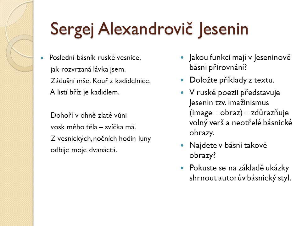 Sergej Alexandrovič Jesenin