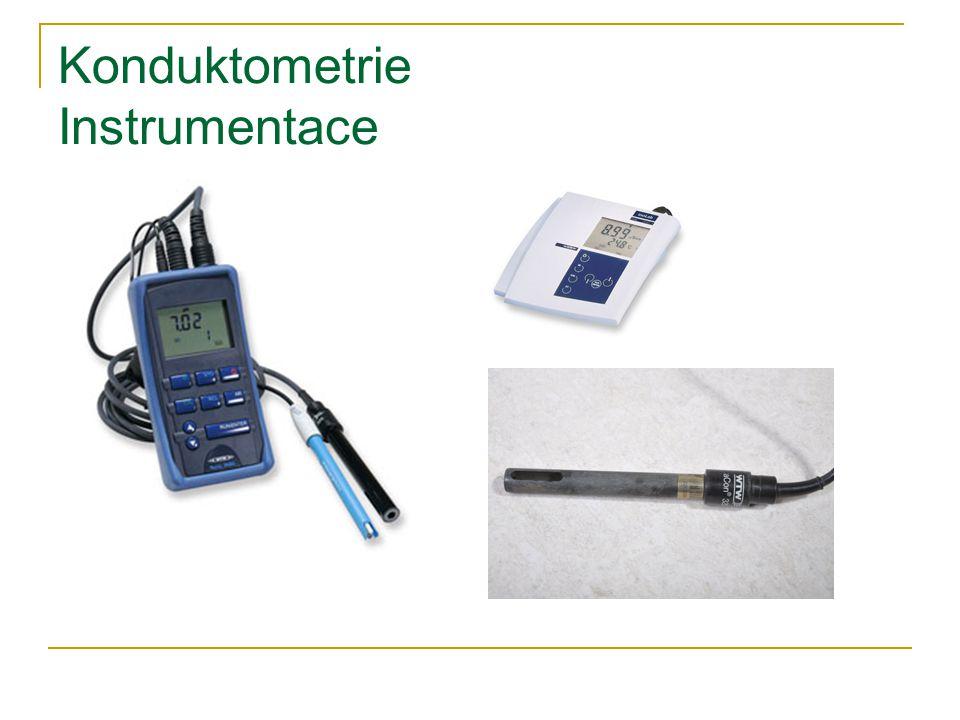 Konduktometrie Instrumentace