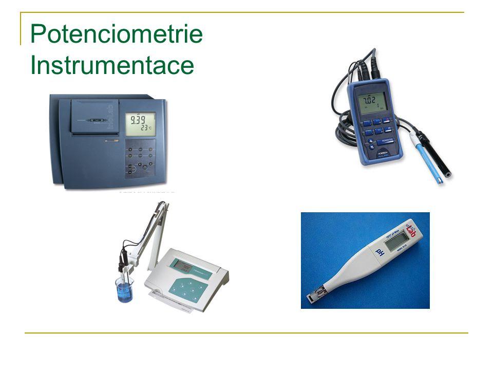 Potenciometrie Instrumentace