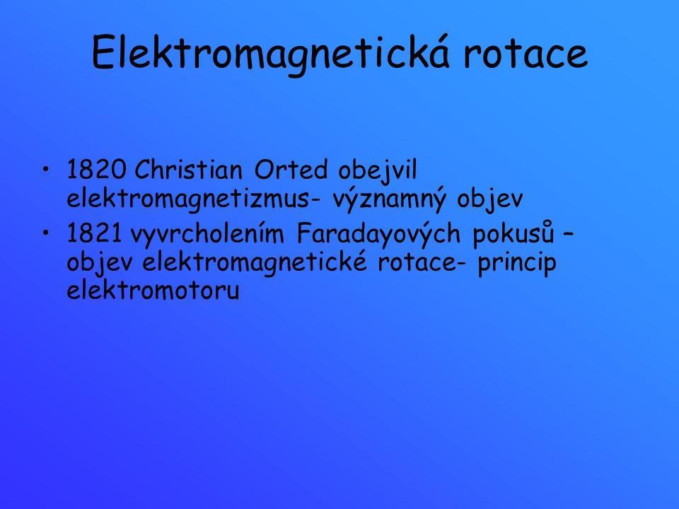 Elektromagnetická rotace