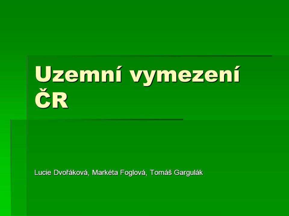 Lucie Dvořáková, Markéta Foglová, Tomáš Gargulák