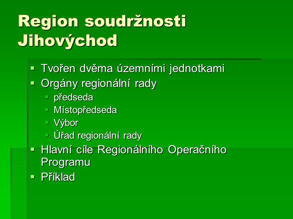 Region soudržnosti Jihovýchod