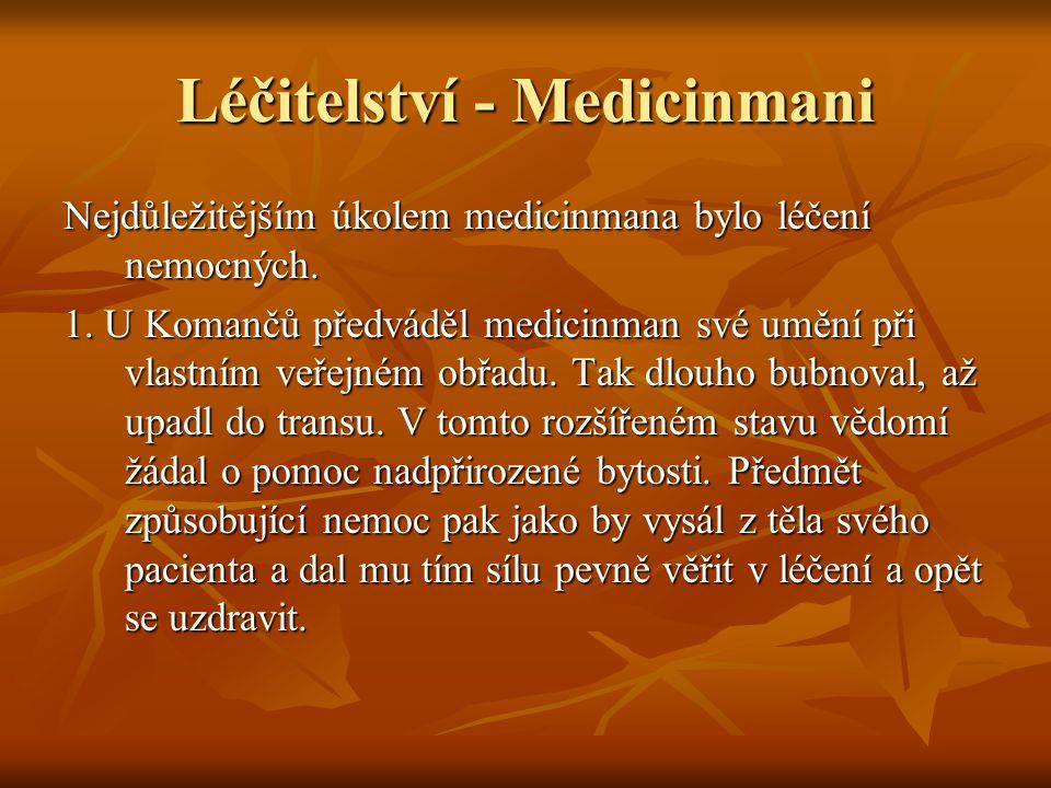 Léčitelství - Medicinmani