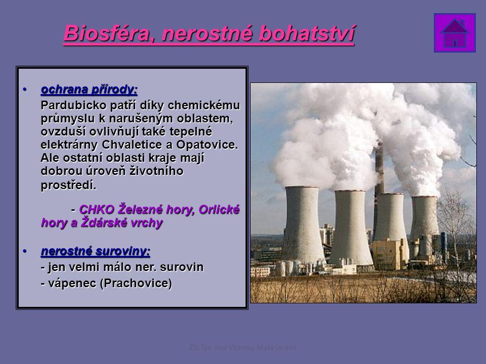 Biosféra, nerostné bohatství