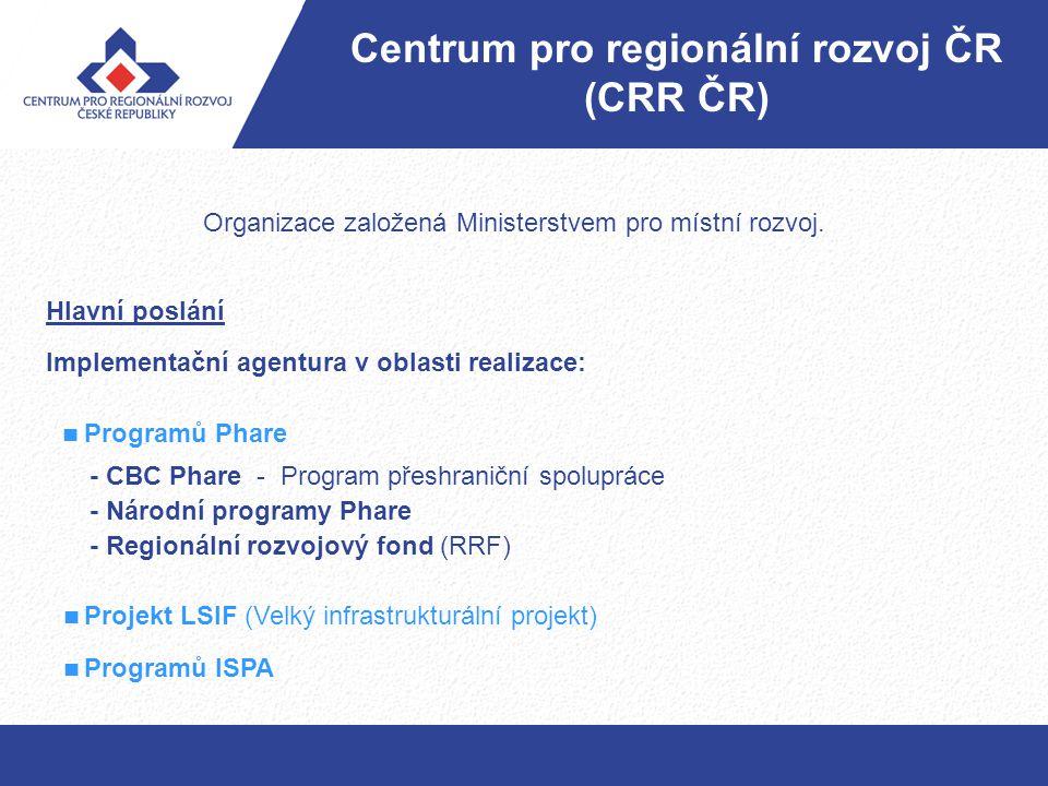 Centrum pro regionální rozvoj ČR (CRR ČR)