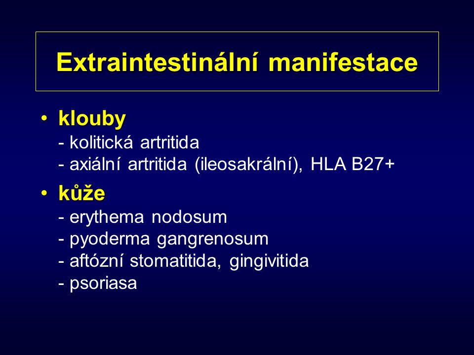 Extraintestinální manifestace