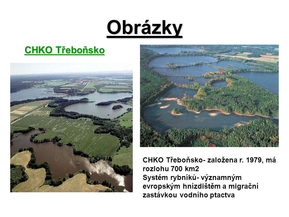 Obrázky CHKO Třeboňsko