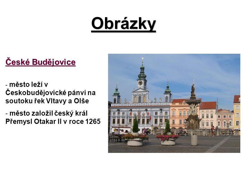 Obrázky České Budějovice