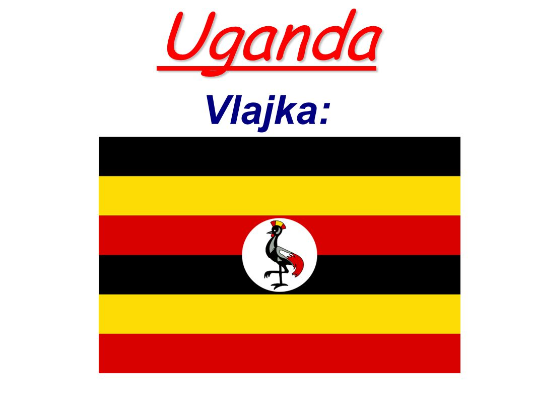 Uganda Vlajka: