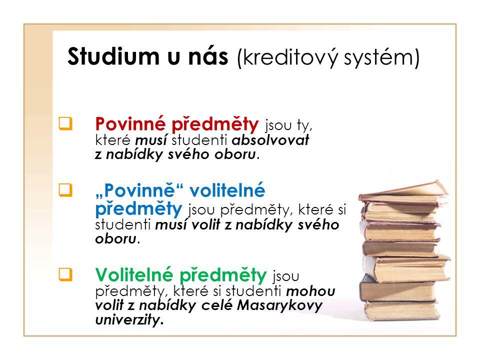 Studium u nás (kreditový systém)