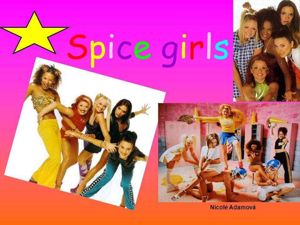 Spice girls Nicolé Adamová