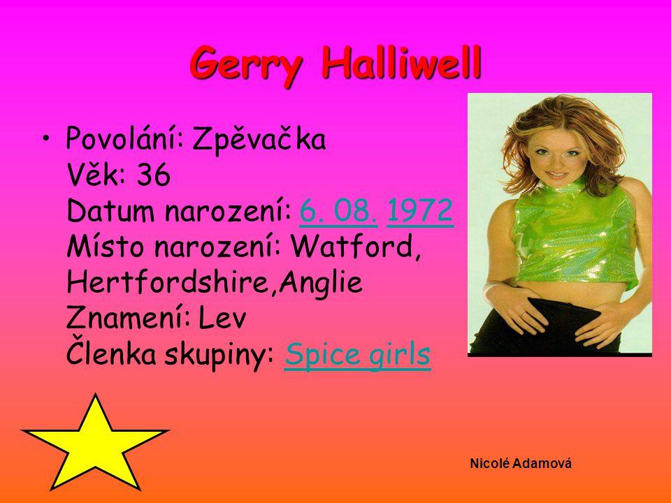 Gerry Halliwell