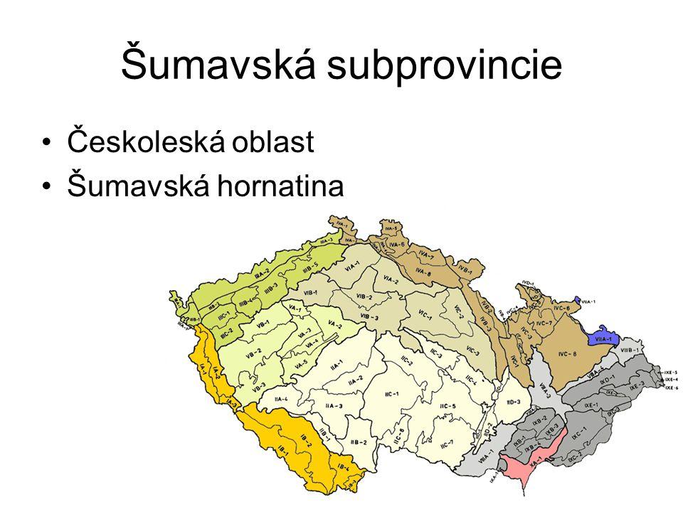 Šumavská subprovincie