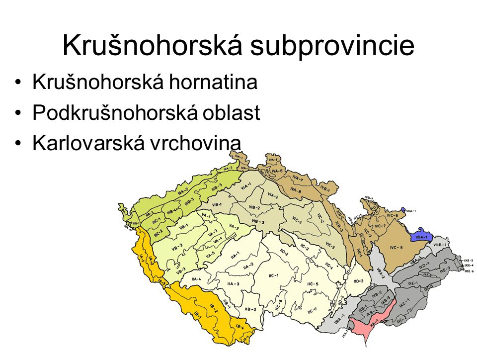 Krušnohorská subprovincie