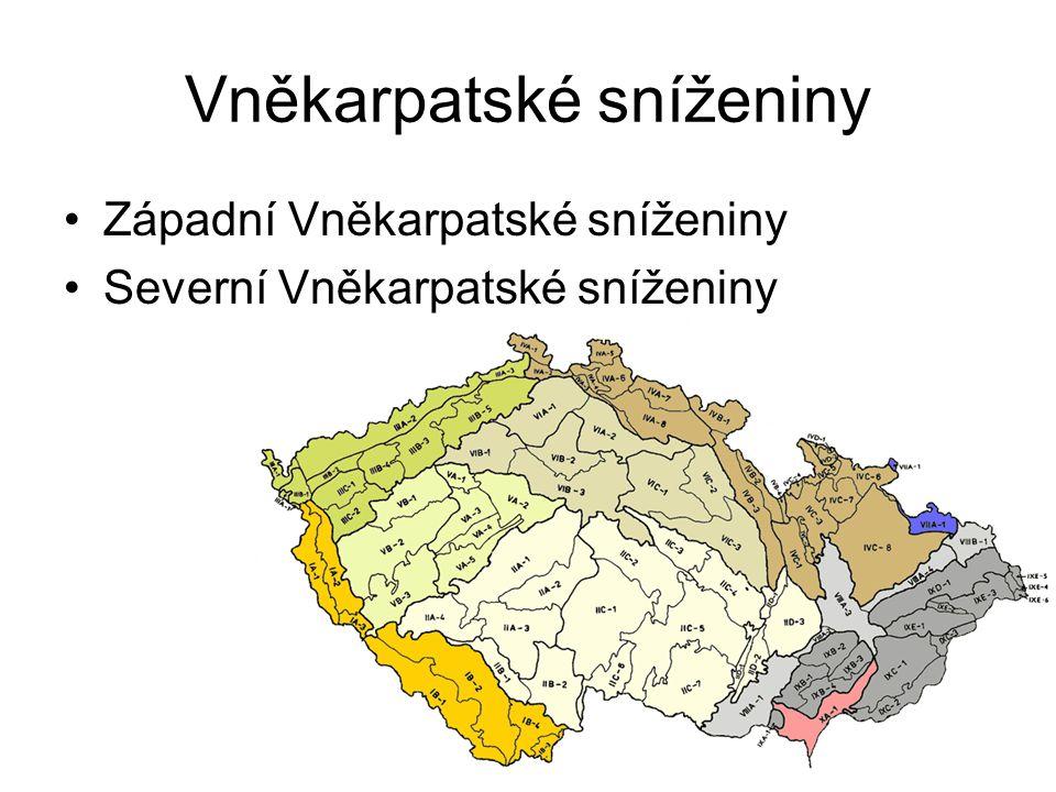 Vněkarpatské sníženiny