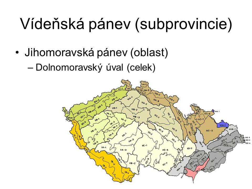 Vídeňská pánev (subprovincie)
