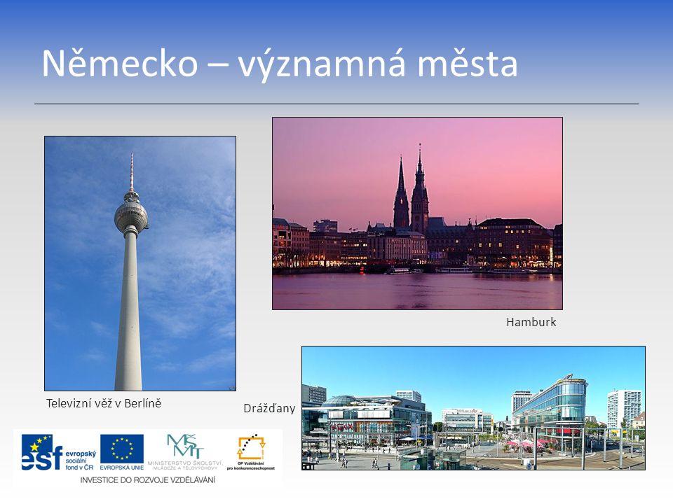 Německo – významná města