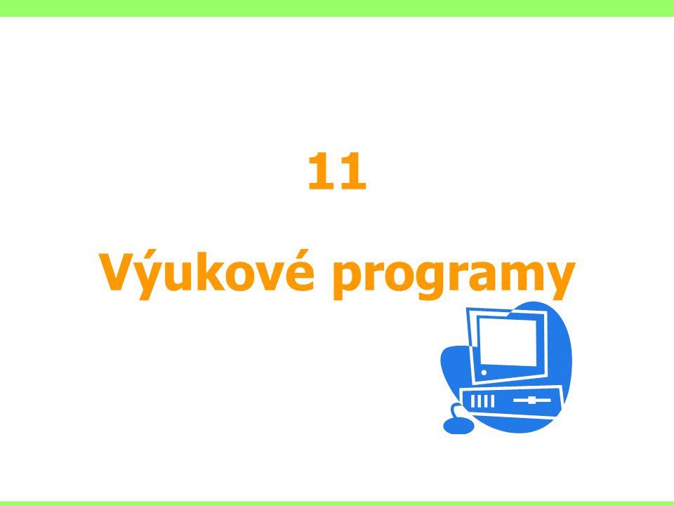 11 Výukové programy