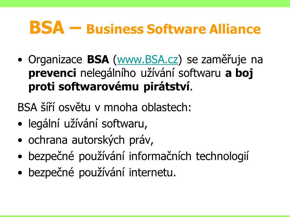 BSA – Business Software Alliance