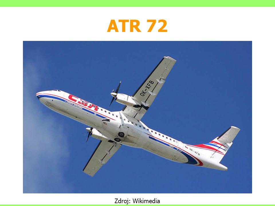 ATR 72 Zdroj: Wikimedia